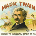 Take the first step by Mark Twain